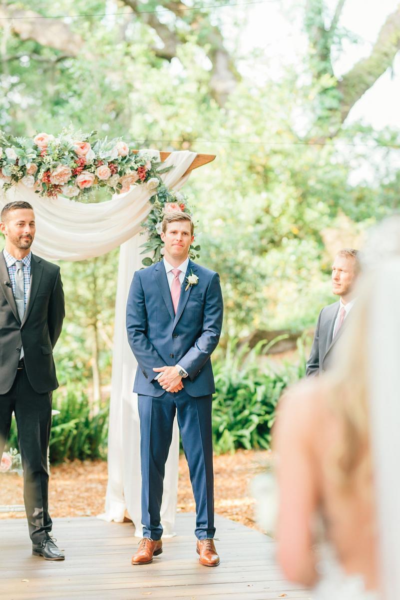Steven and Sinnikka's wedding ceremony