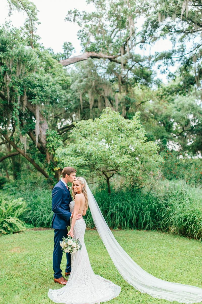 Sinnikka and Steve's romantic wedding day