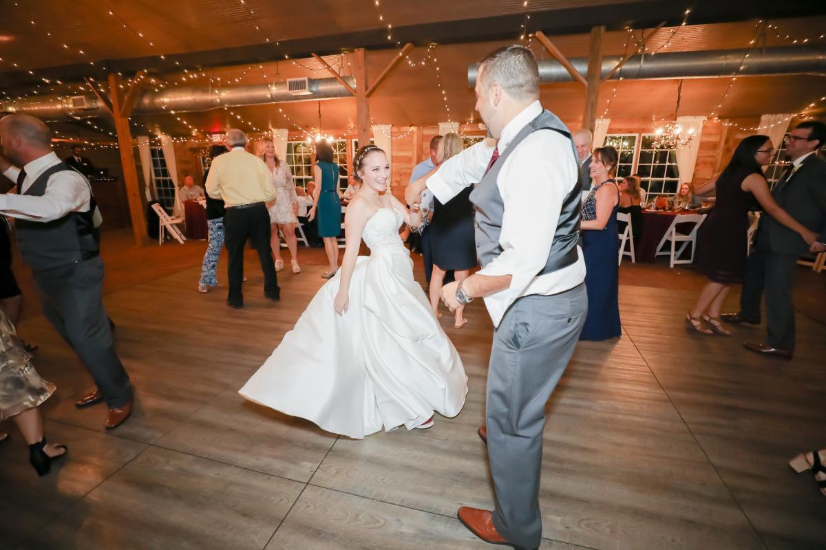 Cross Creek Ranch wedding receptions