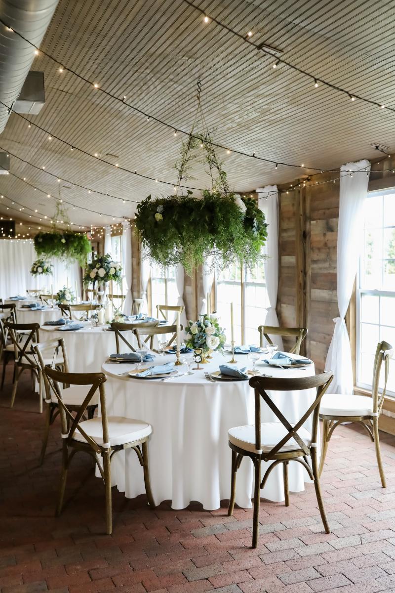 Enchanting wedding reception