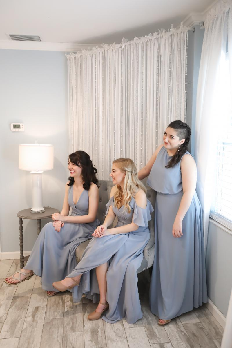 Mary Cate's bridesmaids