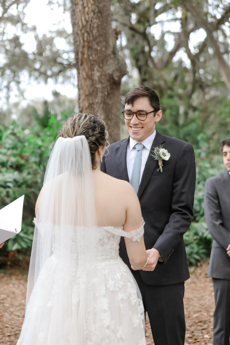 Wedding ceremony at the Enchanted Forest