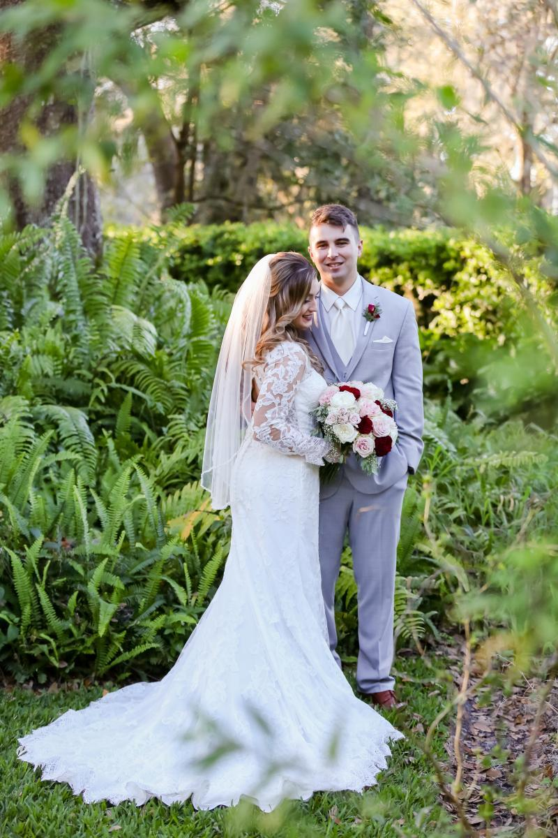 Elegant outdoor wedding in Florida