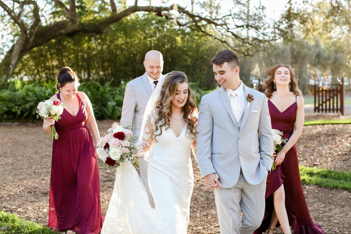 Kayla + Kenneth's wedding party