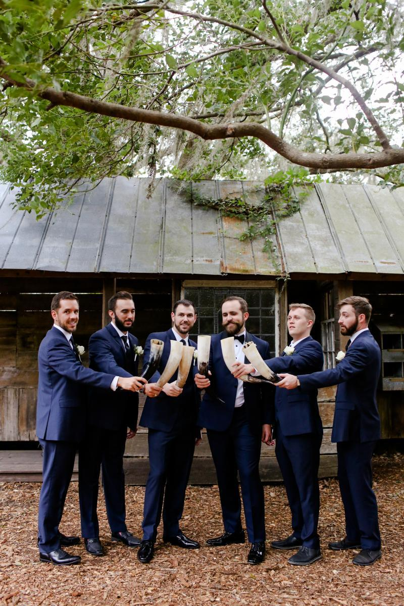 Viking inspired groomsmen gifts