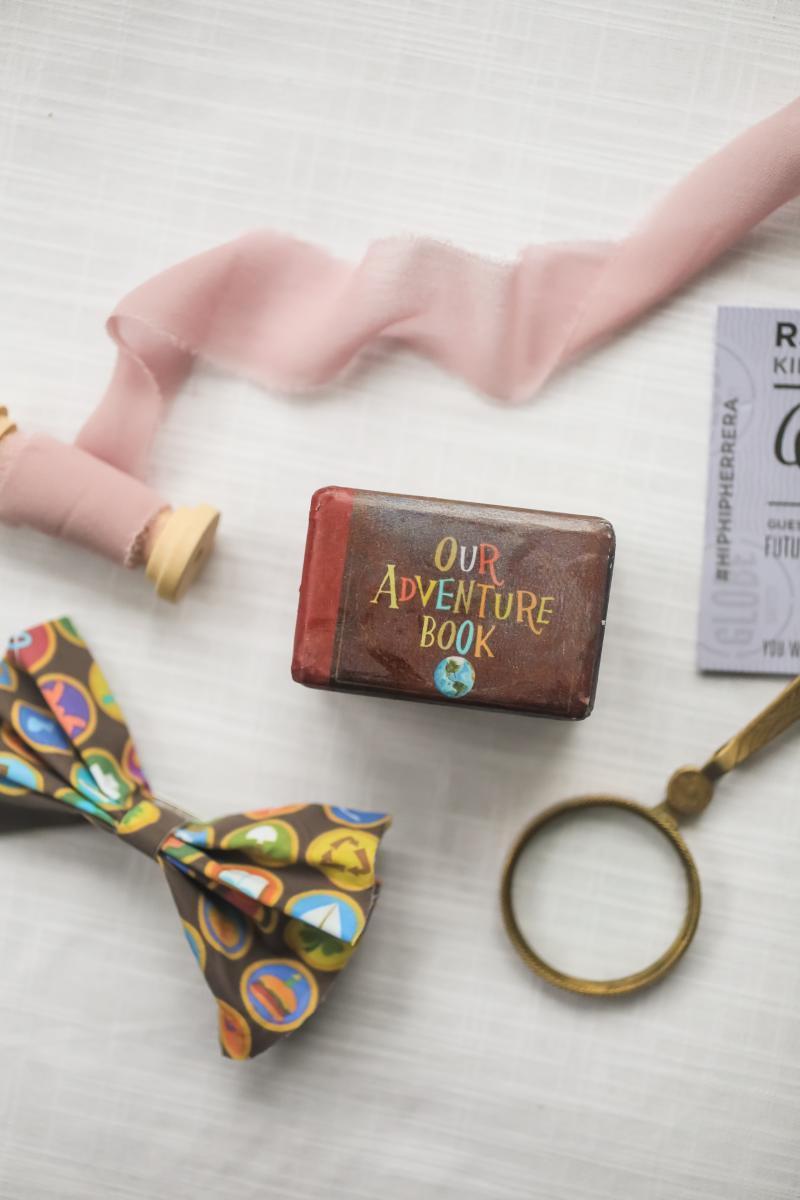 Disney inspired wedding details