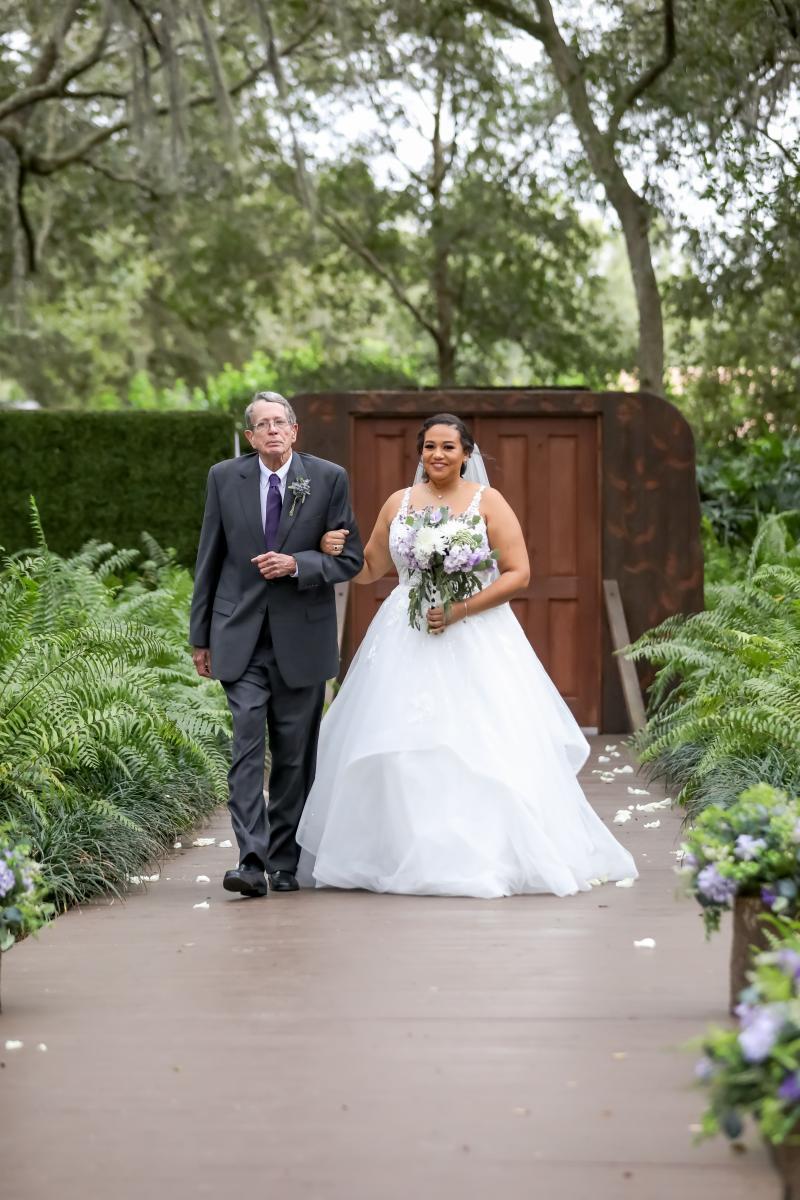 Erica and Ricky's disney wedding
