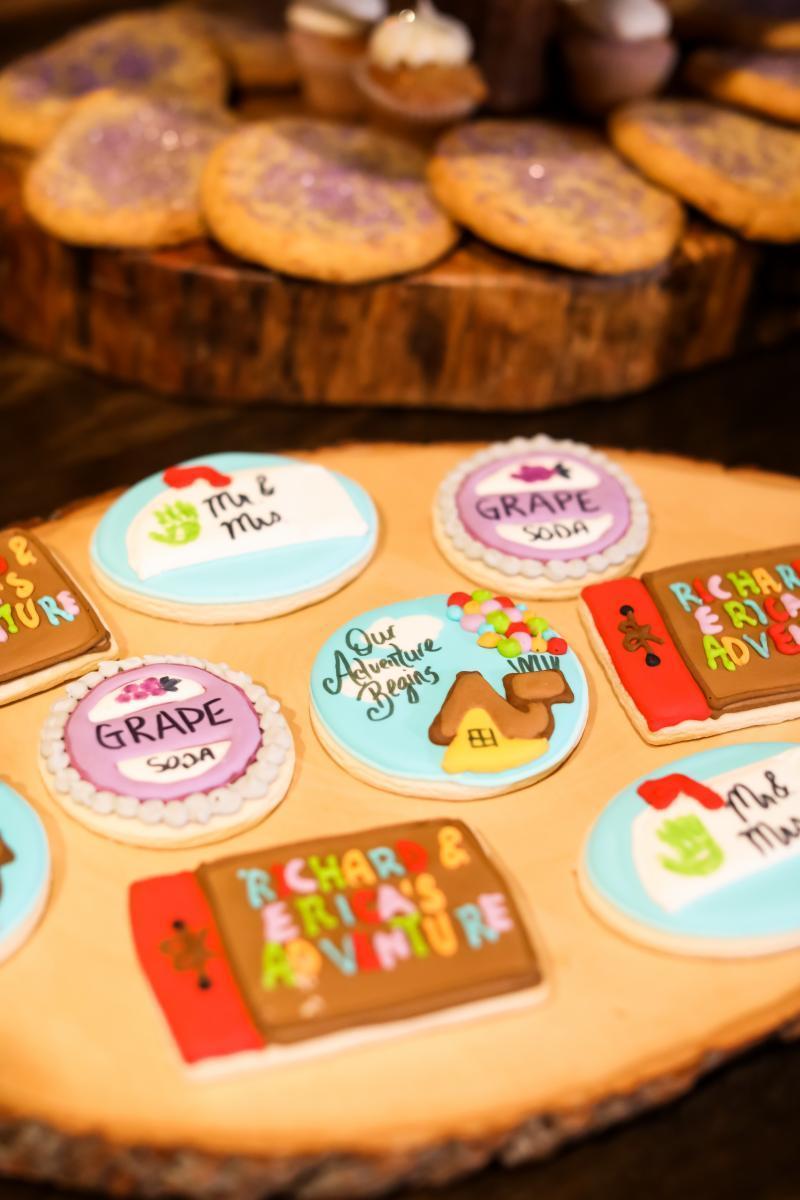 Disney wedding cookies