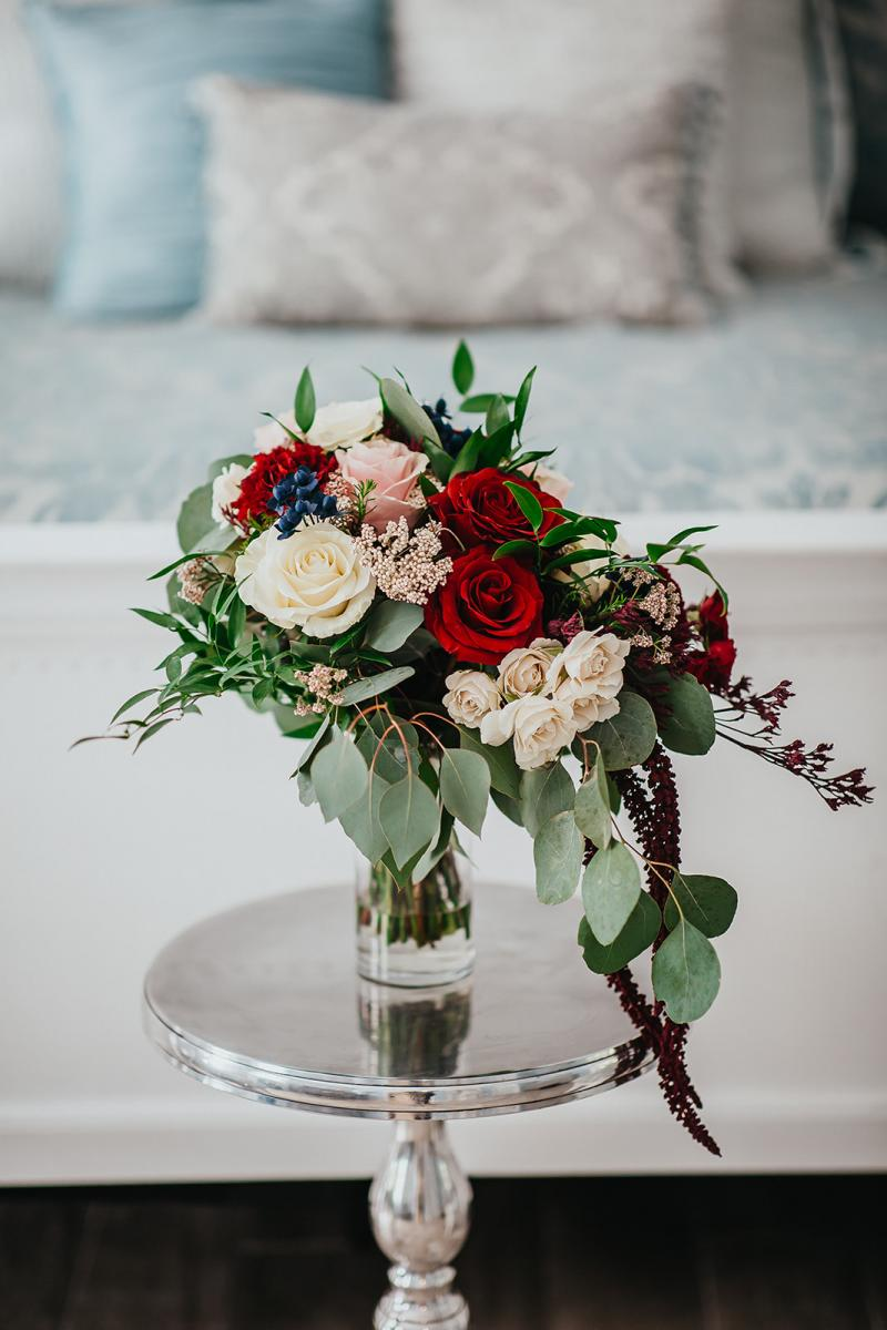 Tahai's enchanting wedding bridal bouquet by Alta Fleura