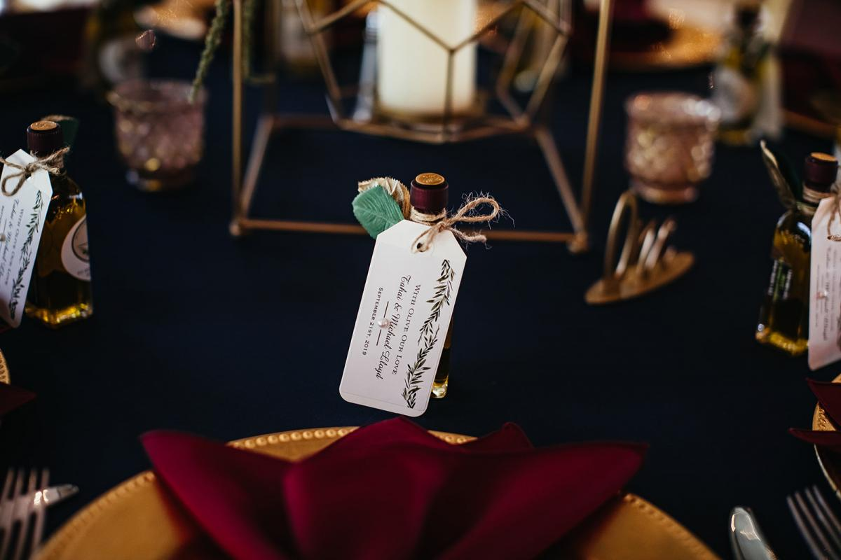 Olive Oil wedding favors