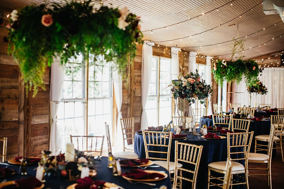 Enchanting disney-inspired wedding reception decor