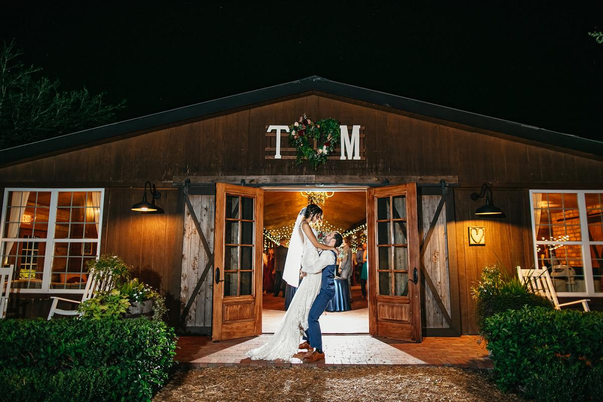 Tahai and Michaels Enchanted Disney-Inspired Wedding at Cross Creek Ranch
