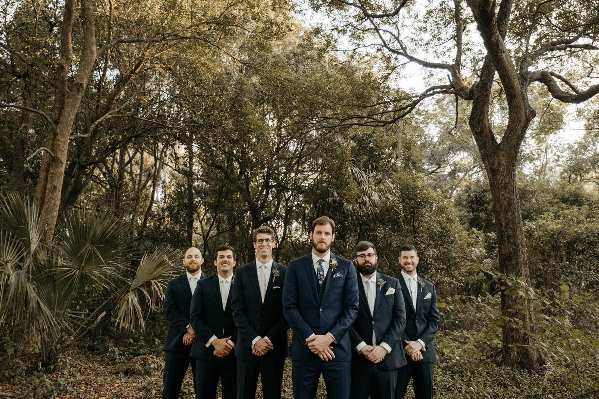 Matt's groomsmen