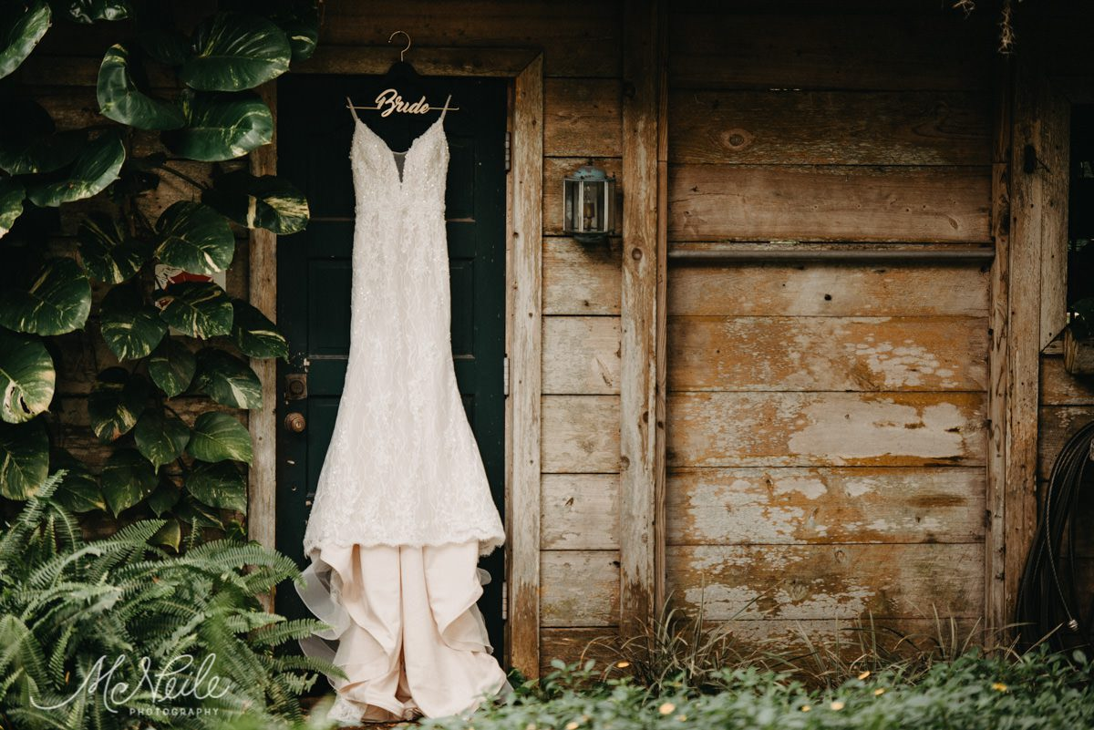 Sarah's Martin Thornburg a Mon Cheri Collection wedding dress