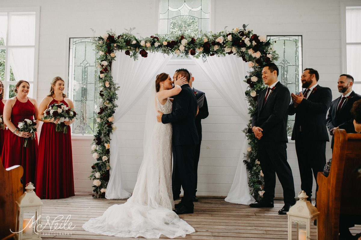 Sarah and Jakob are married!