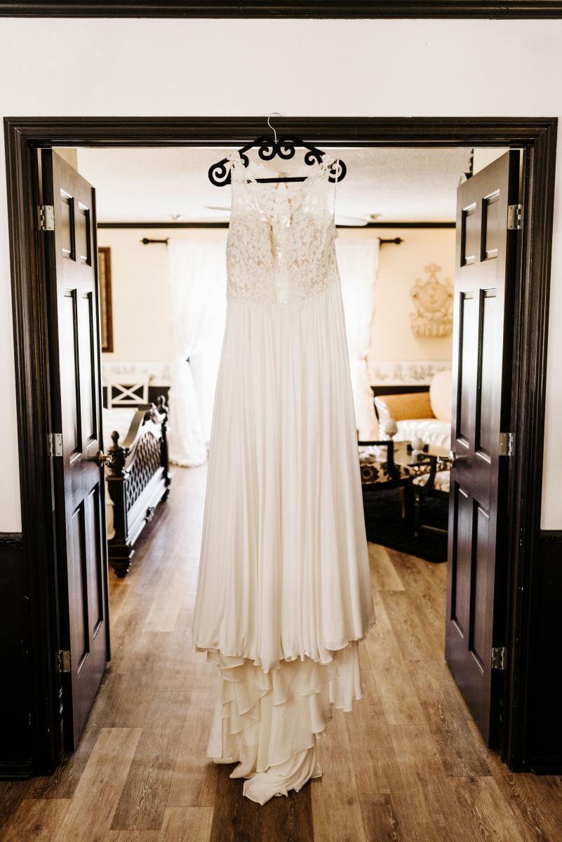 Merrisa's Essence of Australia wedding dress