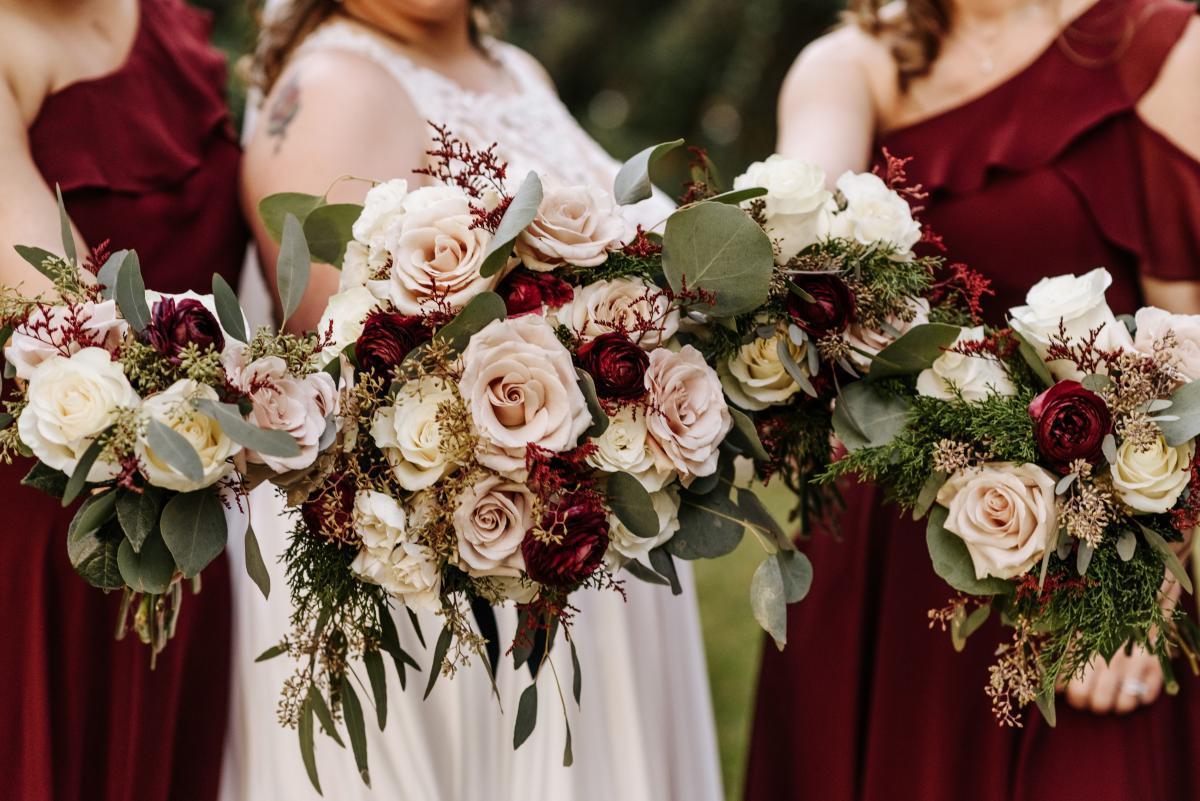 Wedding bouquets by Alta Fleura