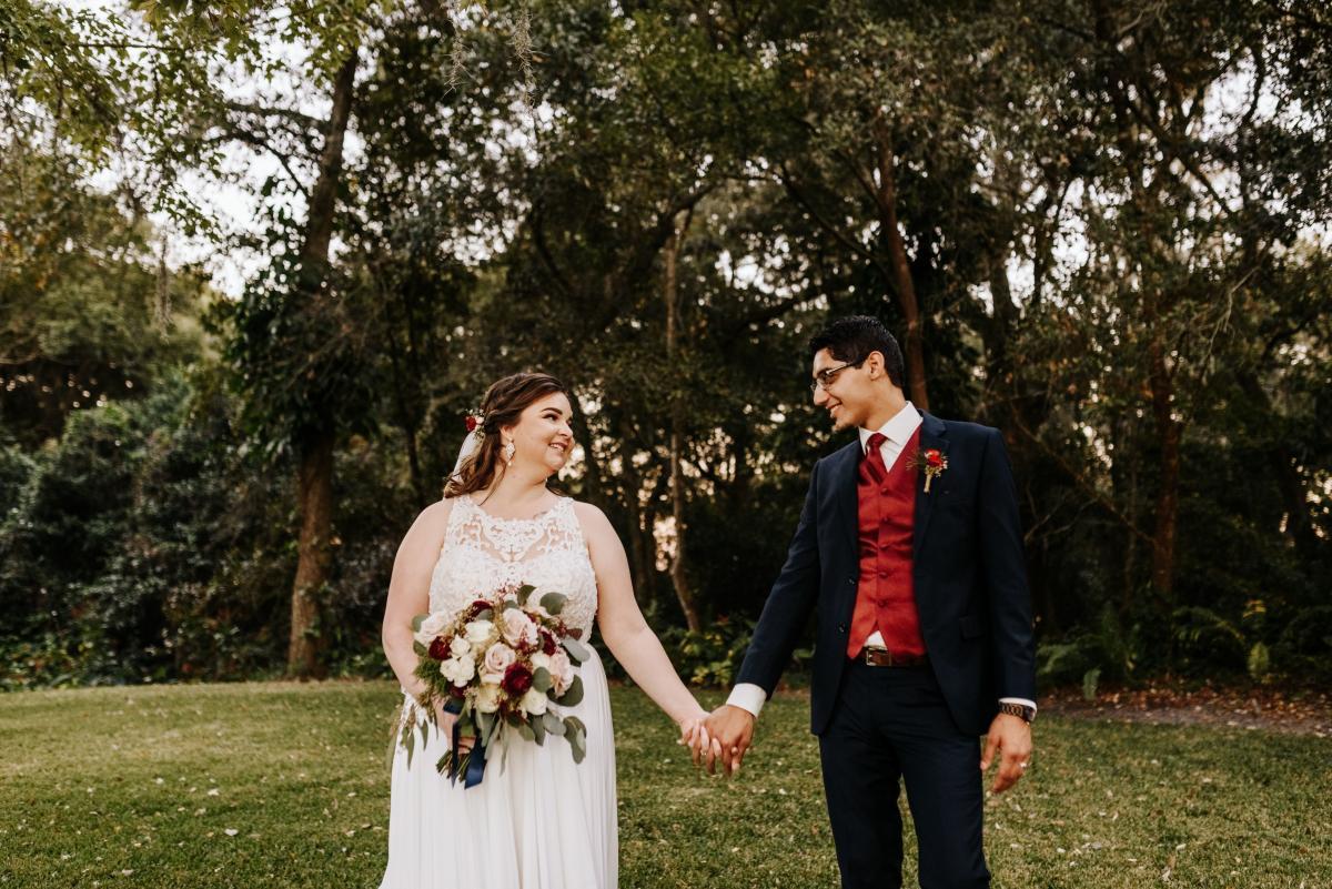 Dreamy wedding sweetheart photos