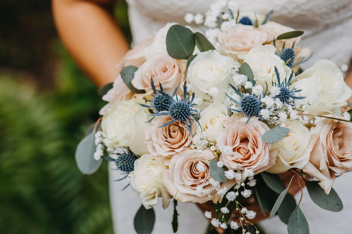 Sheyla's wedding bouquet