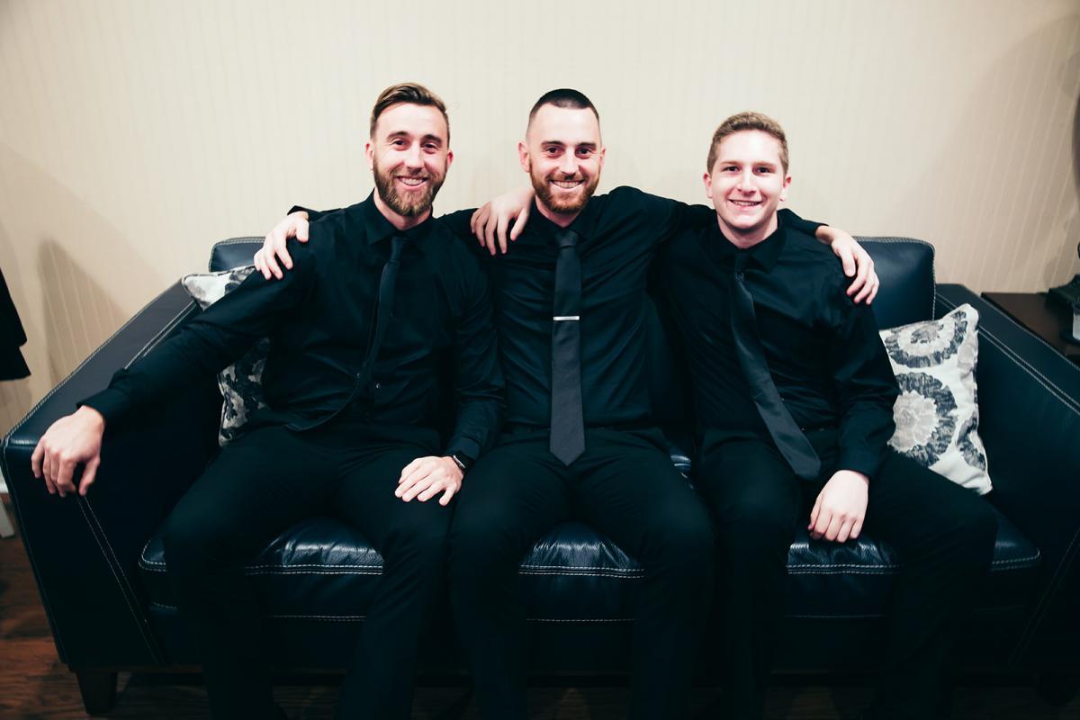 Nick and his groomsmen