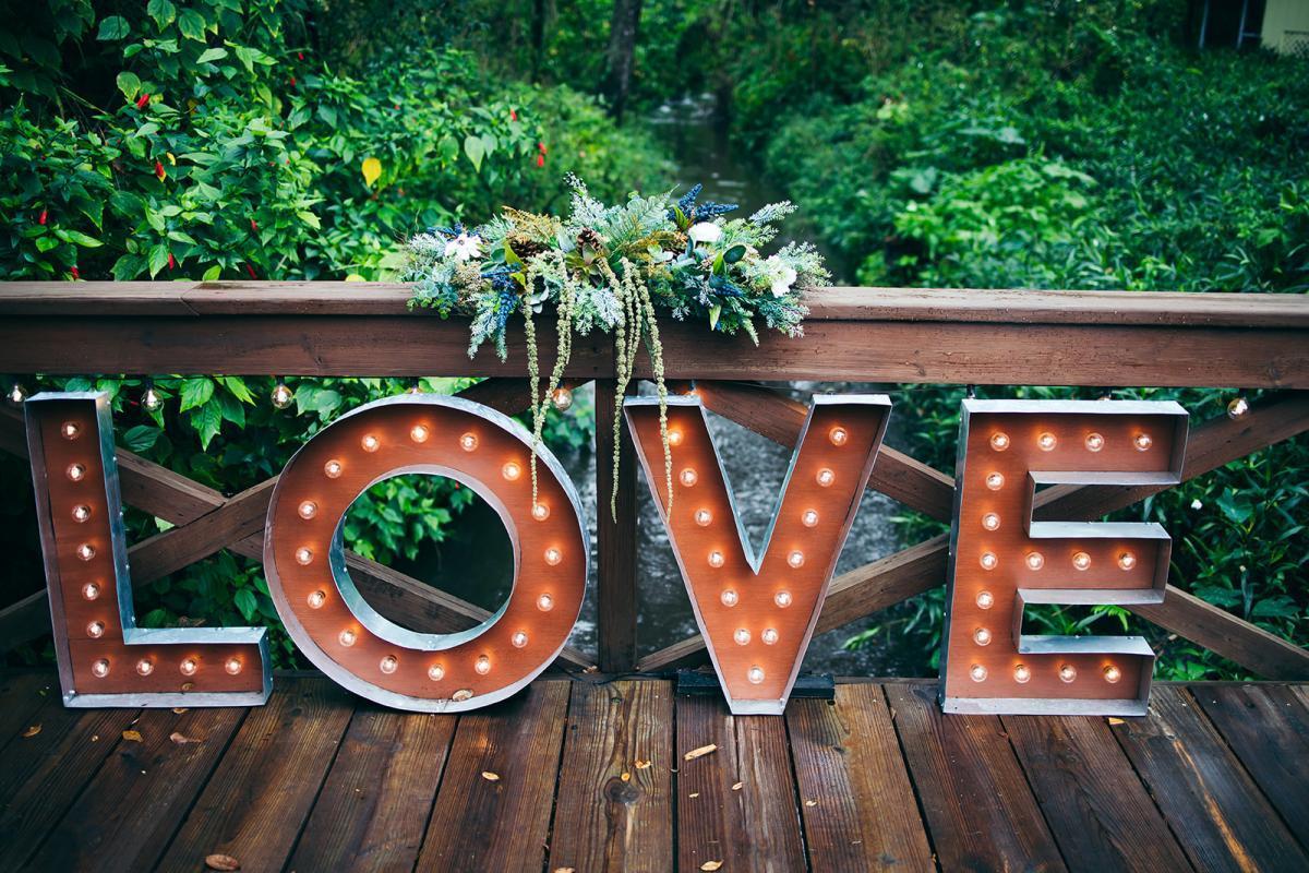 The love bridge at Cross Creek Ranch