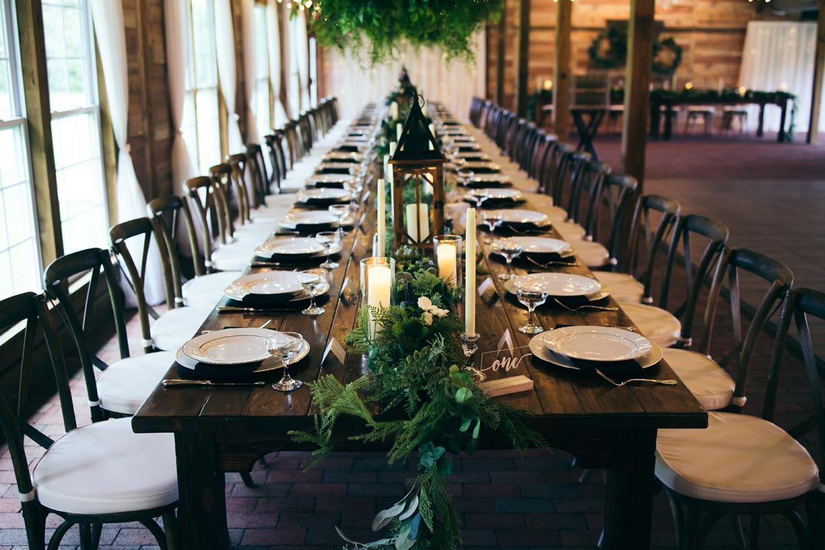 Enchanting wedding decor
