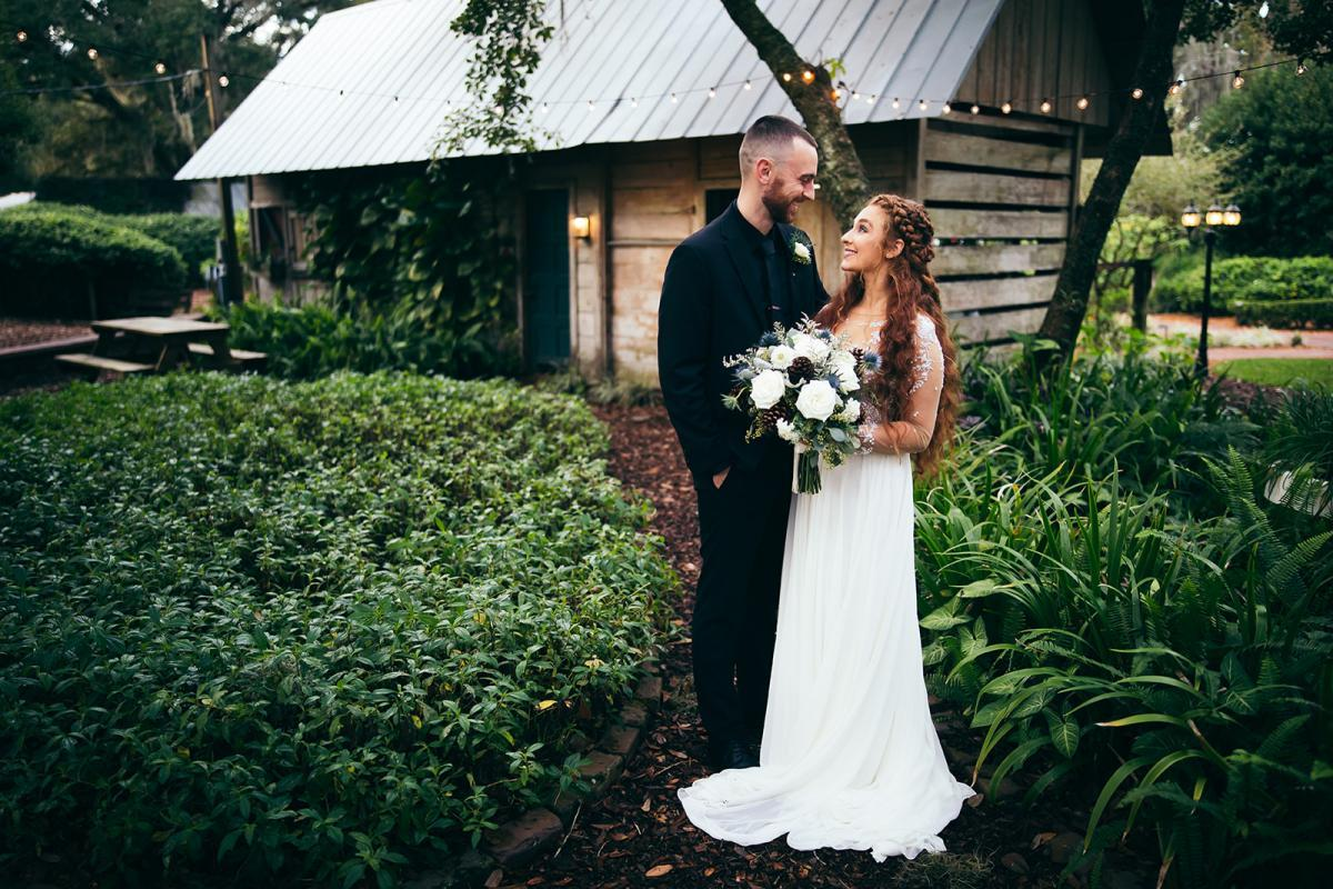 Florida ranch wedding