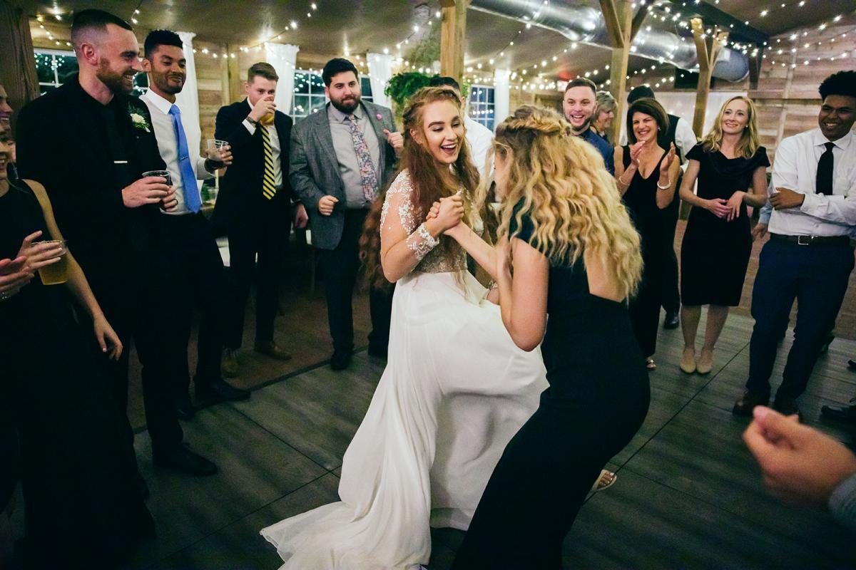 Wedding reception at Cross Creek Ranch