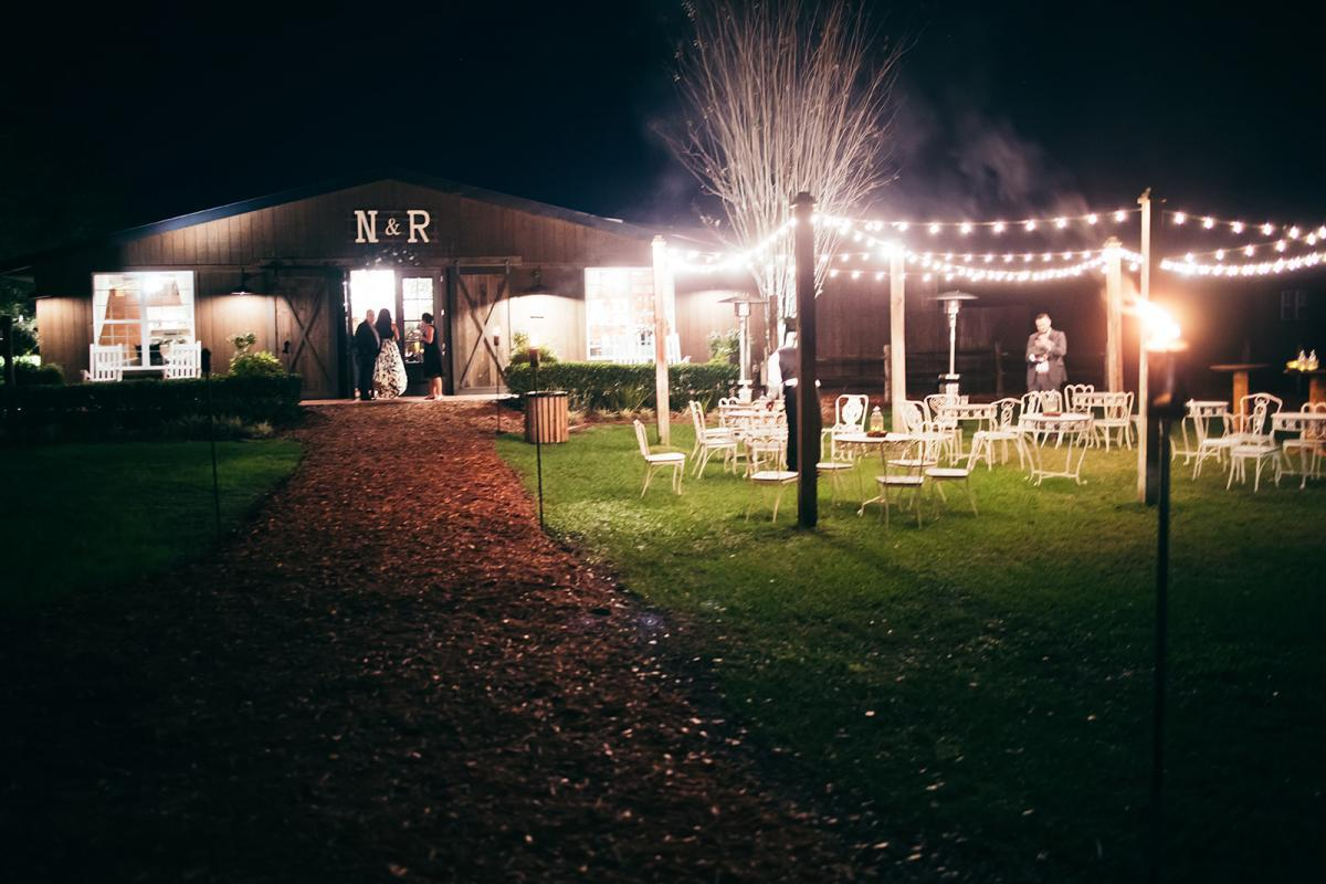 The Carriage House Stable at night