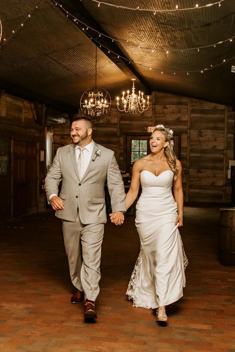 Ashley + Sal's wedding reception introductions