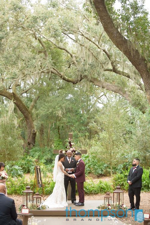 Shay and Kevin's magical Valentines day wedding