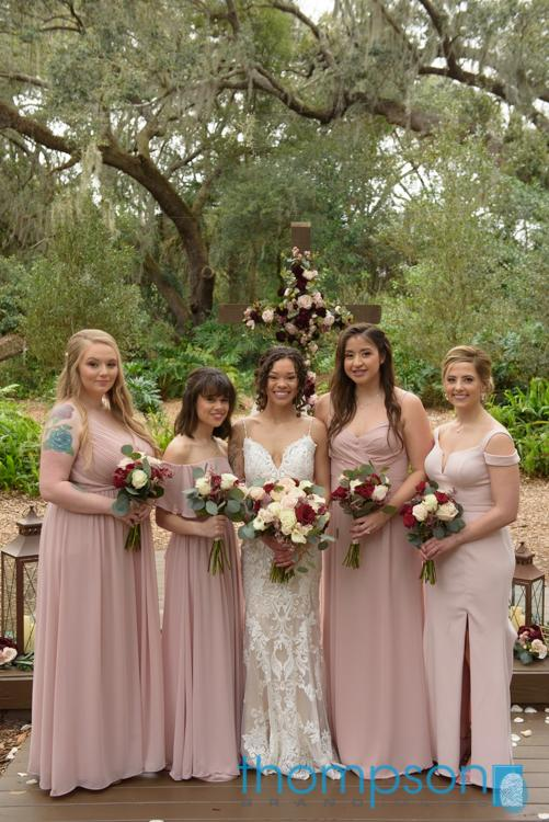 Shay looking gorgeous with her bridesmaid