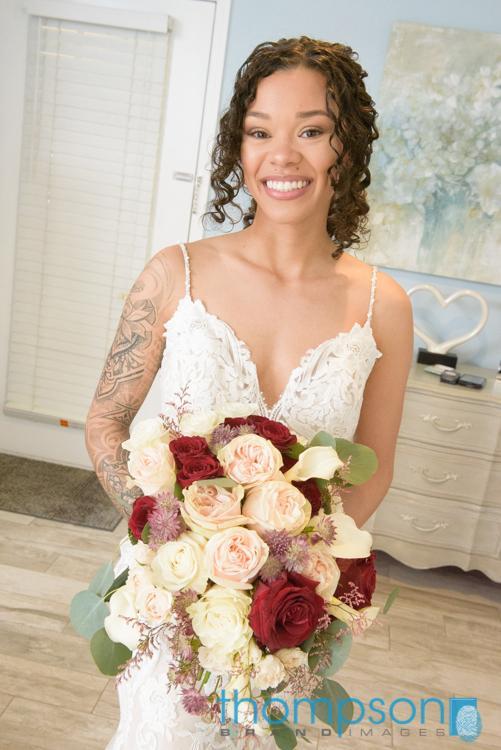 Gorgeous bridal bouquet by Alta Fleura