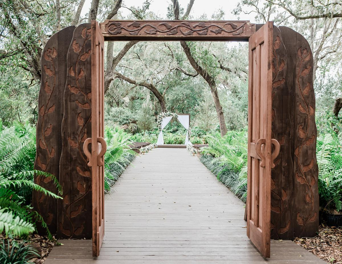 The Enchanted Forest doors