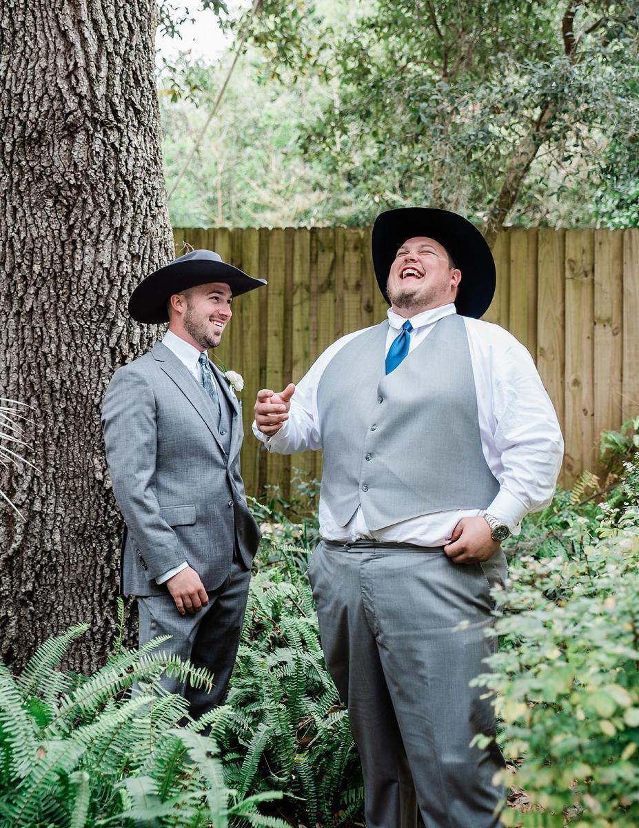 Preston and his groomsmen