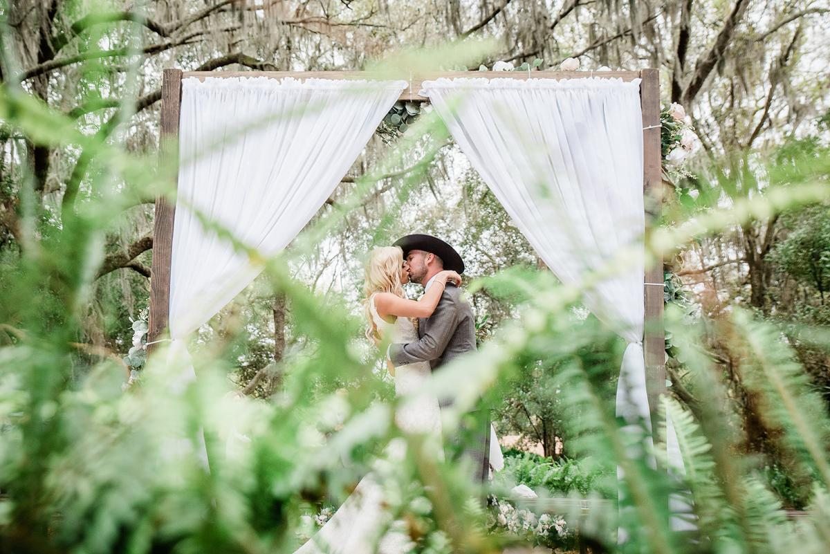 Sweetheart photos at the Enchanted Forest