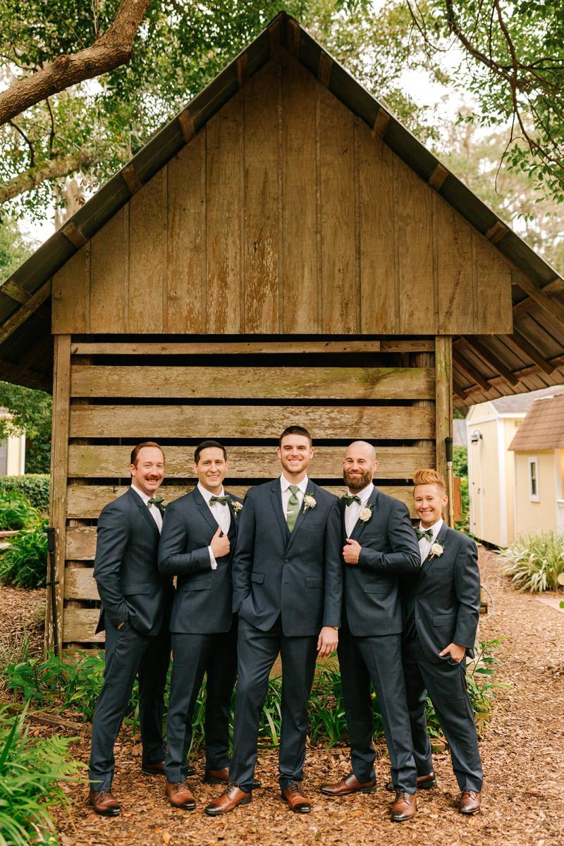 Michael and his groomsmen