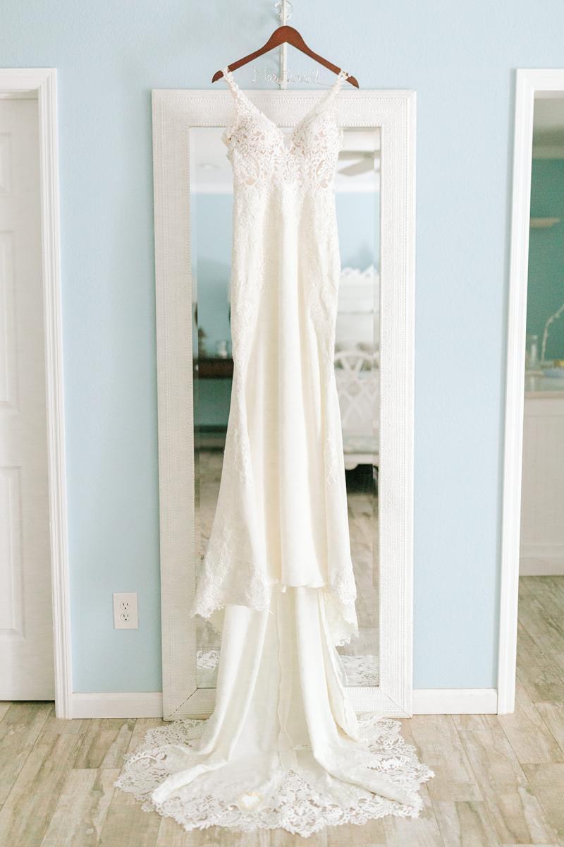 Caitlin's Stella York wedding dress