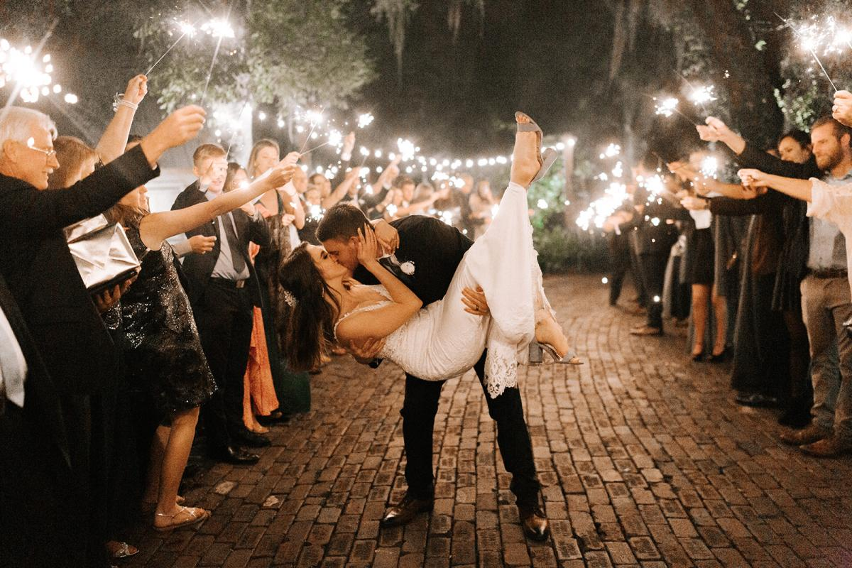 Cutest dip for this sparkler exit