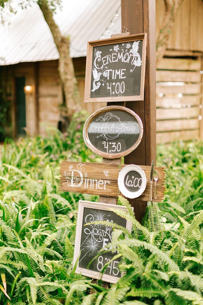 Personalized wedding day timeline