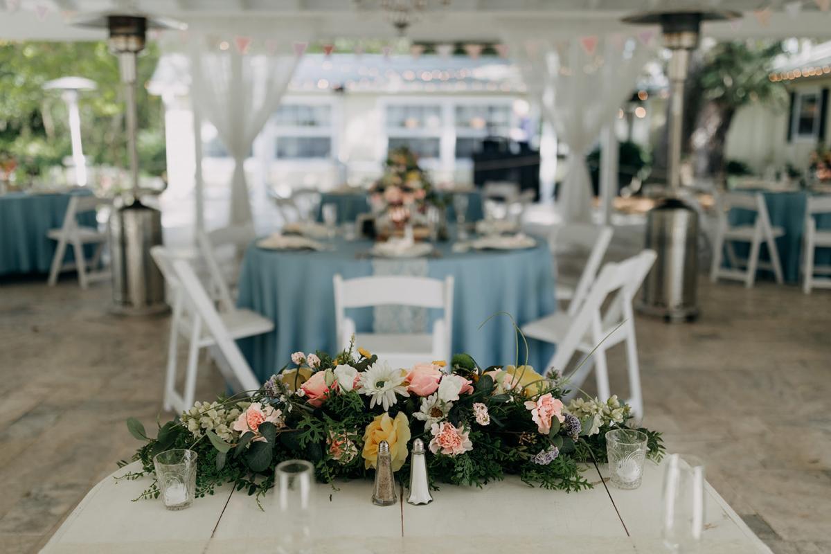 French Country Inn wedding reception