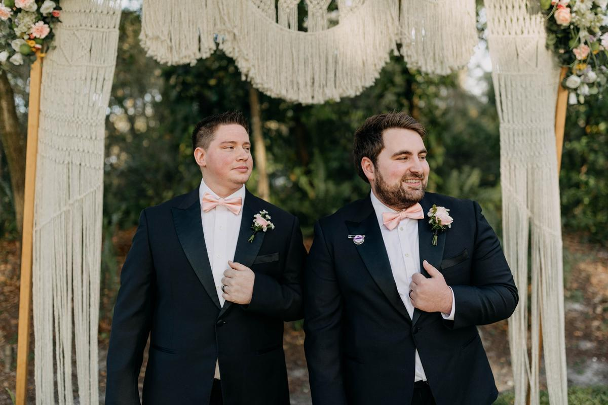 Grant and his best man