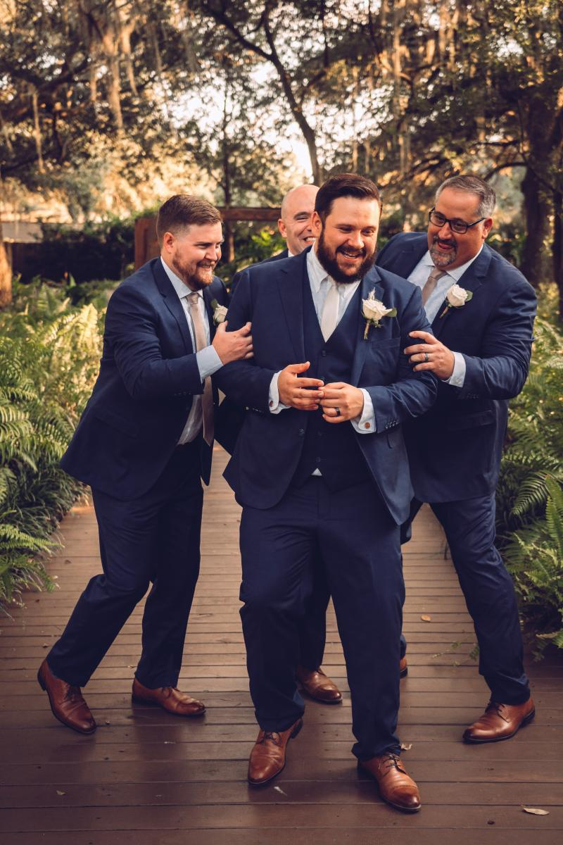 Nick and his groomsmen
