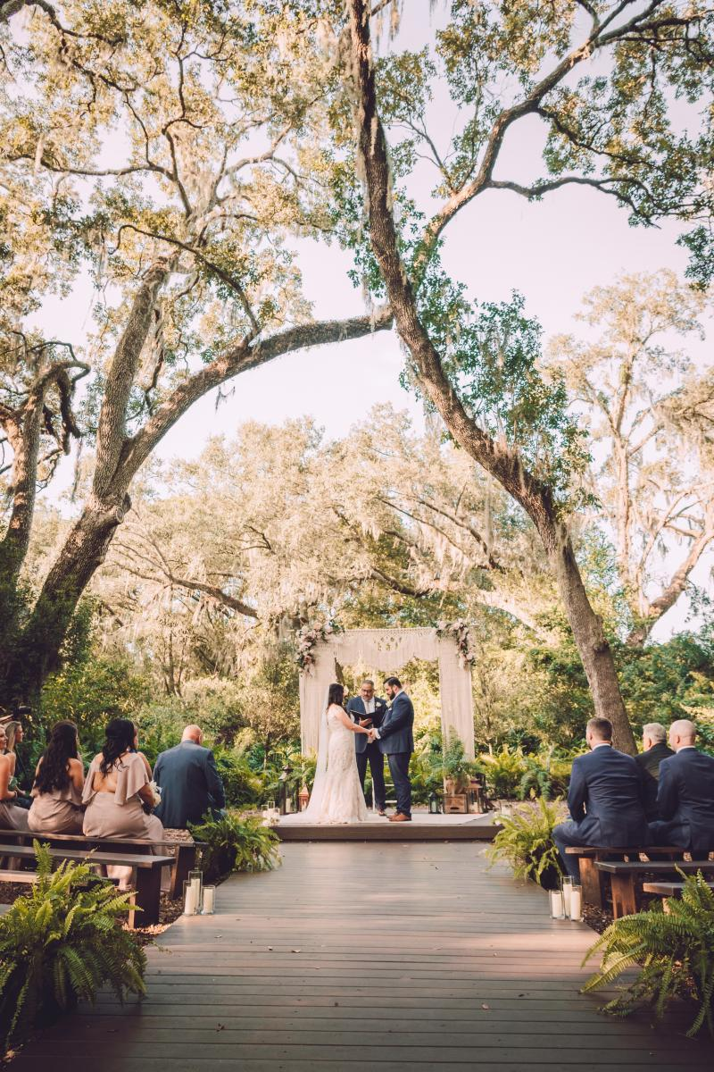 Micro wedding at Cross Creek Ranch
