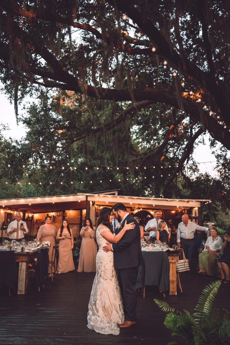 First dance at the Garden Shed