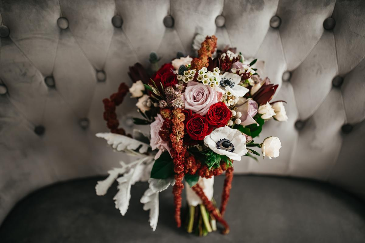 Gorgeous whimsical and enchanting bridal bouquet