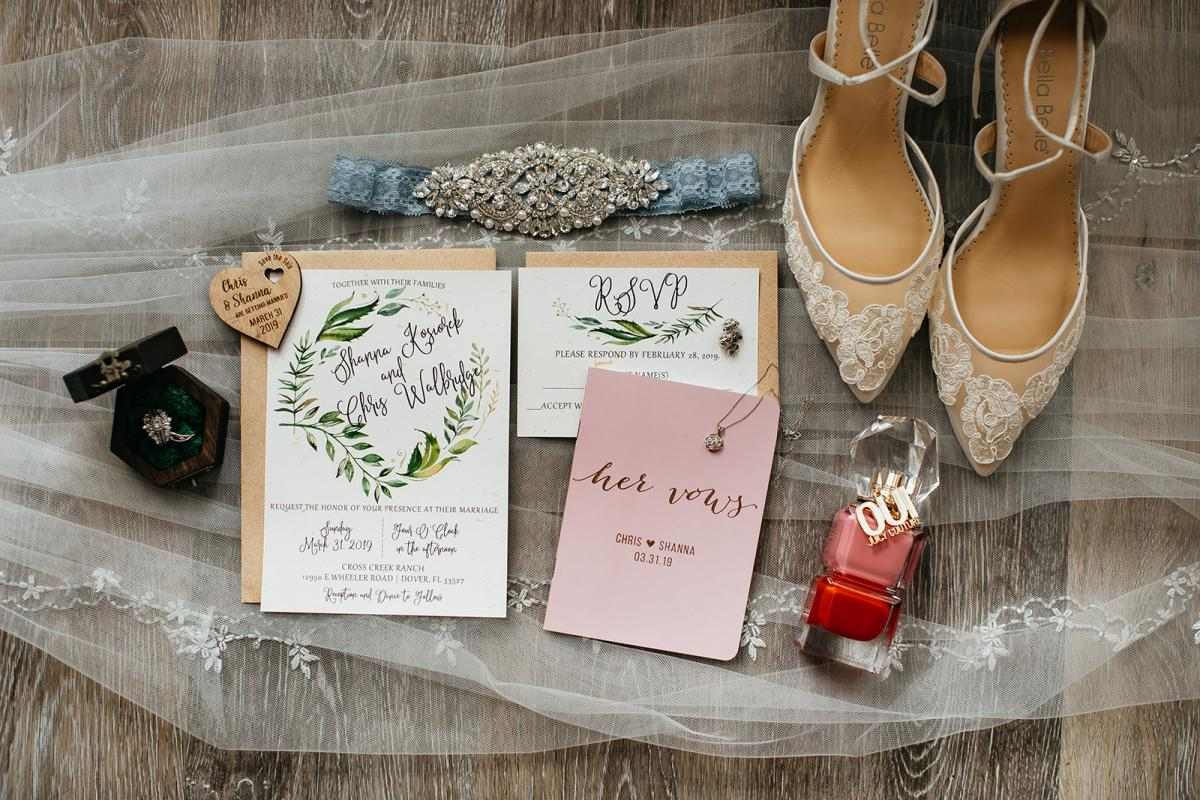 Whimsical wedding details