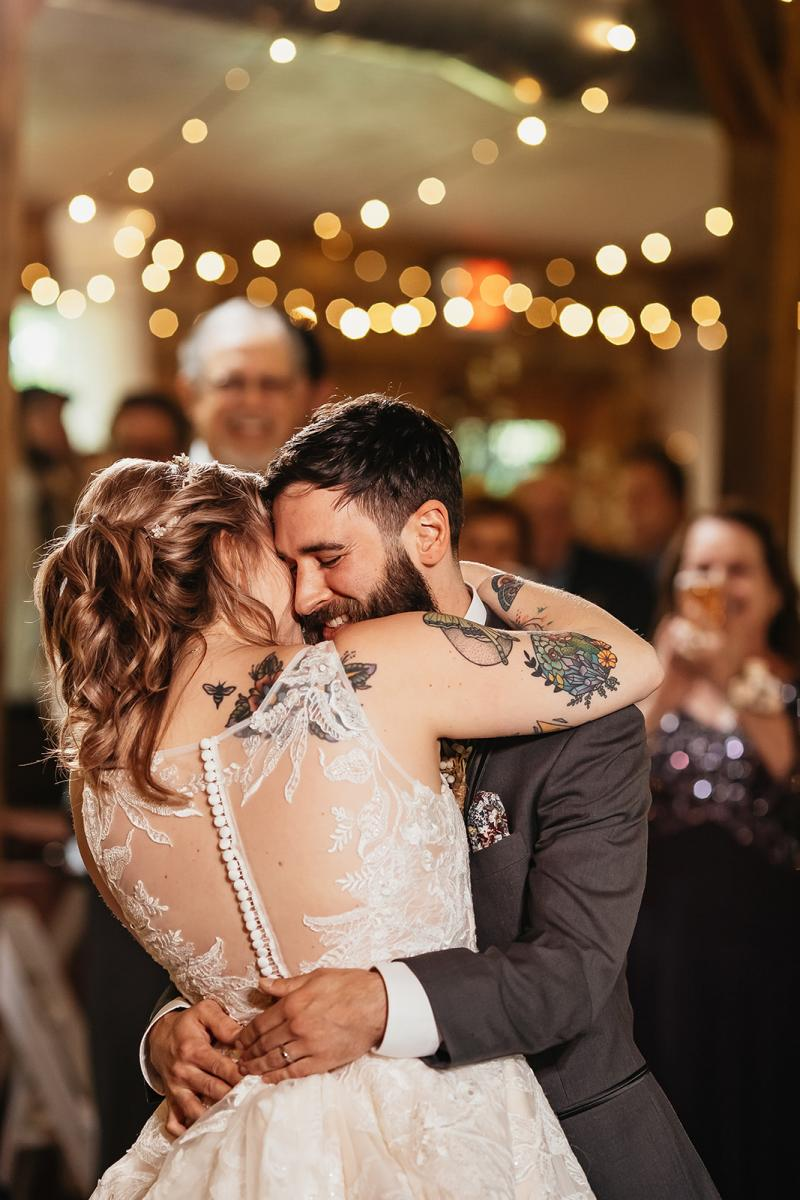 Shanna and Chris's first dance