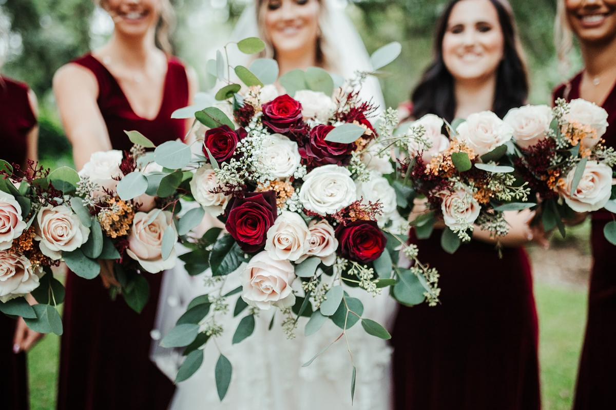 Wedding bouquets by Alta Fleura