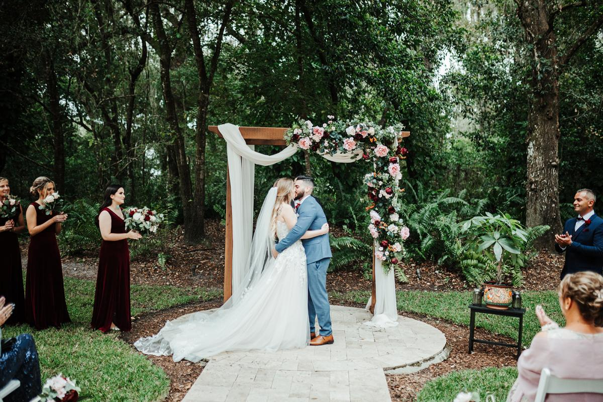 Nina and Carlos are officially married!